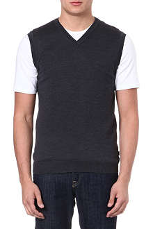 HUGO BOSS Babard knitted vest