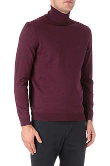 HUGO BOSS Roll neck knitted jumper