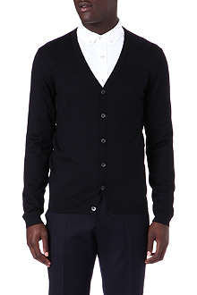 HUGO BOSS Slim fit wool cardigan