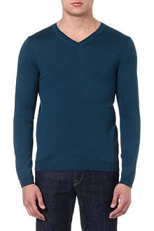 HUGO BOSS Batissed v-neck jumper