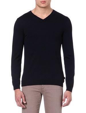 HUGO BOSS Batissed v-neck jumper