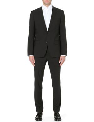 HUGO BOSS Slim-fit wool-blend suit