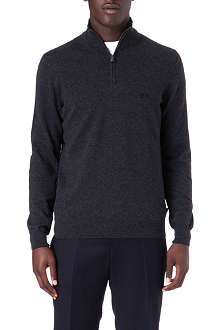 HUGO BOSS Benders-B zip knit jumper
