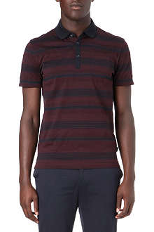 HUGO BOSS Striped polo shirt