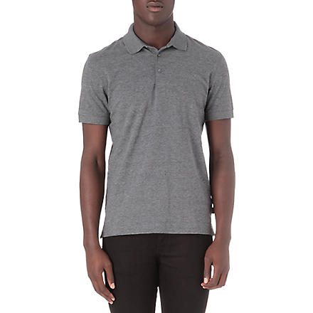 HUGO BOSS Short-sleeved polo shirt (Grey
