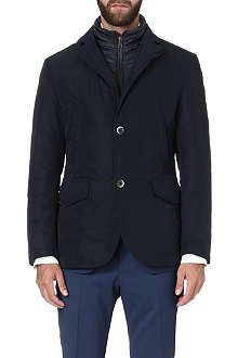 HUGO BOSS Cartino nylon-insert jacket