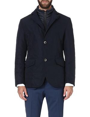 HUGO BOSS Cartino nylon-insert jacket