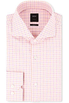 HUGO BOSS Christo slim-fit single-cuff shirt