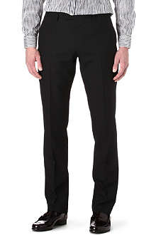HUGO BOSS Court wool and cashmere-blend trousers