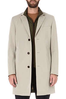 HUGO BOSS Davidson detachable-gilet coat