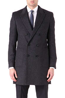 HUGO BOSS Dawn angora wool coat