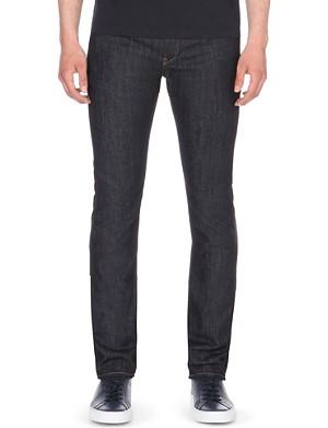 HUGO BOSS Tape slim-fit tapered jeans