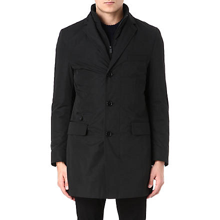 HUGO BOSS Water-repellent jacket (Black