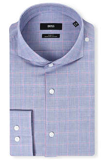 HUGO BOSS Dwayne check shirt