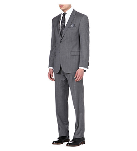 HUGO BOSS Edison/Power wool suit (Grey