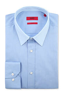 HUGO Elisha single-cuff cotton shirt