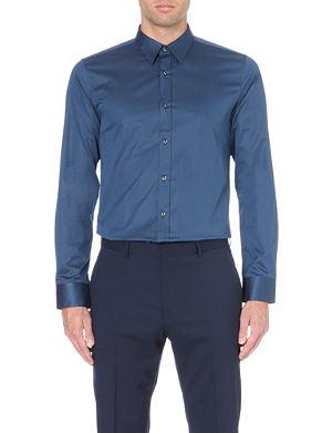 HUGO Elisha cotton-twill shirt