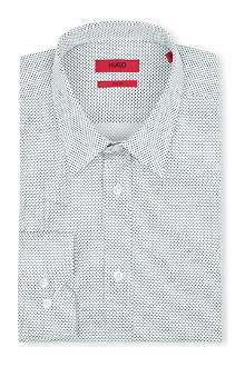 HUGO Elisha slim-fit single-cuff shirt