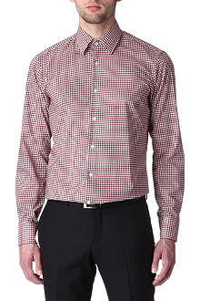 HUGO BOSS Enzo regular-fit gingham shirt