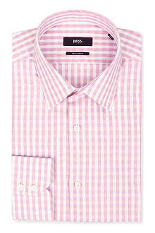 HUGO BOSS Enzo regular-fit single-cuff shirt