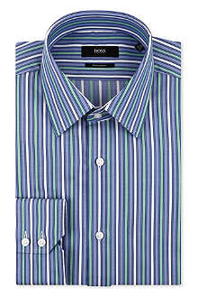 HUGO BOSS Enzo regular-fit single cuff shirt