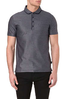 HUGO BOSS Fontana jacquard polo shirt