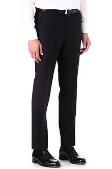 HUGO BOSS Slim adjuster wool trousers
