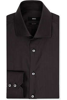 HUGO BOSS Gerald striped shirt