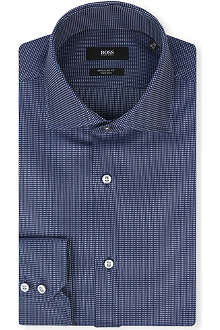 HUGO BOSS Gerald regular-fit single-cuff shirt