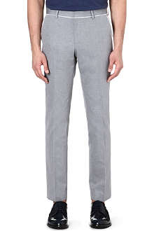 HUGO BOSS Cotton trousers