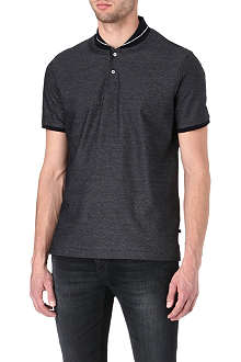 HUGO BOSS Giacomo jacquard polo shirt