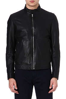HUGO BOSS Gismo leather jacket