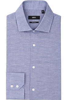 HUGO BOSS Gordron regular-fit single-cuff shirt