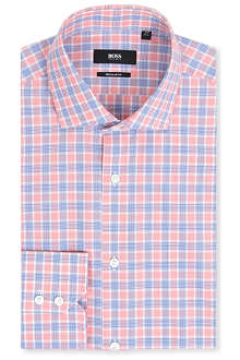 HUGO BOSS Gordon regular-fit double-cuff shirt