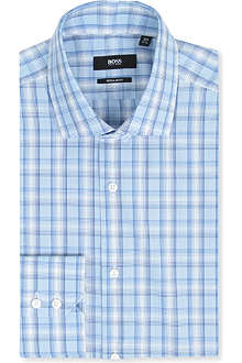 HUGO BOSS Grade regular-fit double-cuff shirt