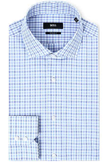 HUGO BOSS Gordon check shirt