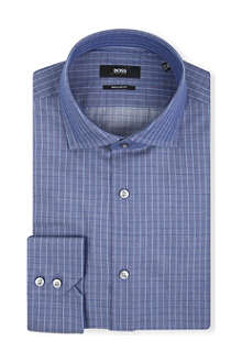 HUGO BOSS Gordon regular-fit single-cuff shirt