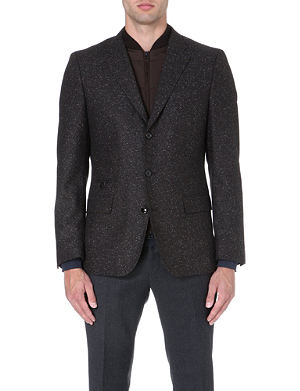 HUGO BOSS Hardin flecked blazer
