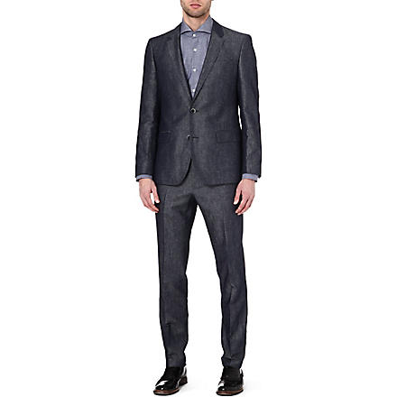 HUGO BOSS Hays/Gent single-breasted suit (Blue