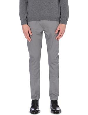 HUGO BOSS Heldor cotton-twill trousers