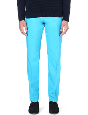 HUGO BOSS Stretch-cotton trousers