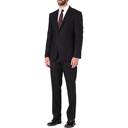 HUGO BOSS Howard2/Court regular-fit suit (Charcoal
