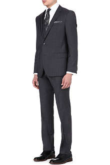 HUGO BOSS Huge/Genius wool and silk-blend suit