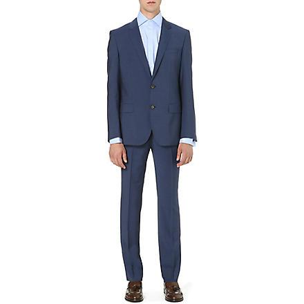 HUGO BOSS Huge/Genius wool and silk-blend suit (Navy