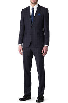 HUGO BOSS Huge Genius tonal-check suit