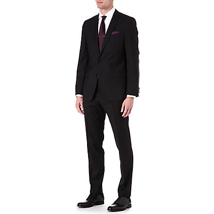HUGO BOSS Huge Genius wool suit (Black