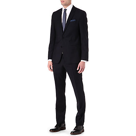 HUGO BOSS Huge Genius wool suit (Navy