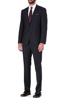 HUGO BOSS Huge/Genius Glen plaid suit