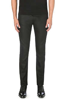 HUGO Resin-finish slim-fit skinny jeans