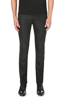 HUGO Resin-finish slim-fit skinny jeans